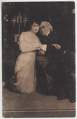 "CYRIL MAUDE in the play  ""GRUMPY"" - New Theatre / London - c1910s era postcard"