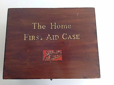 """Vintage """"The Home First Aid Case """" By Boots"""