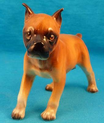 Norcrest Boxer puppy old vintage dog FREE SHIPPING detailed eyes glossy