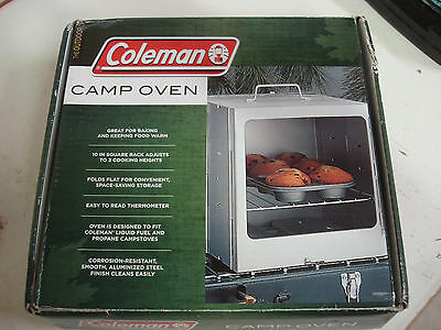 COLEMAN PORTABLE CAMP OVEN New Never Used