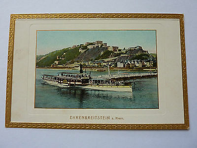 Germany-Ehrenbreitstein-Vintage Postcard- Louis Glaser 3682