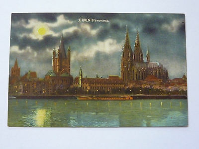 Germany-Koln-Vintage Postcard-Panorama