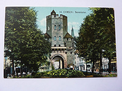 GERMANY-COELN-VINTAGE POSTCARD-No14 SEVERINTOR
