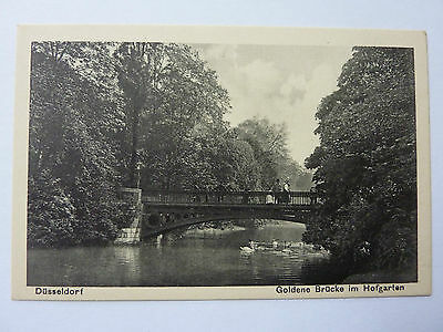 GERMANY-DUSSELDORF-VINTAGE POSTCARD-GOLDENE BRUCKE No 19
