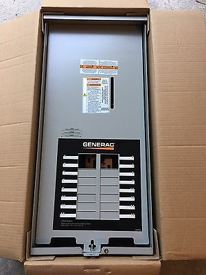 Generac 100-Amp Automatic Transfer Switch w/ 16-Circuit Load Center