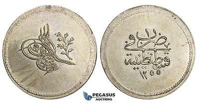 AA515, Ottoman Empire, Turkey, Abdul Mejid, 3 Para AH1255/1, Billon, UNC (Graffi
