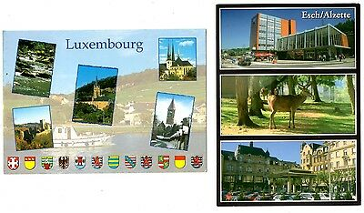 2 new postcards from LUXEMBOURG - Esch / Alzette (S)