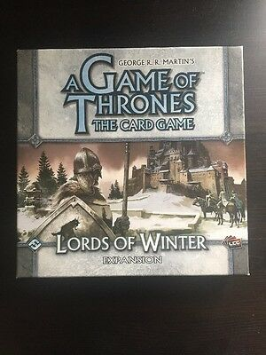 A Game of Thrones TCG Lords of Winter Expansion