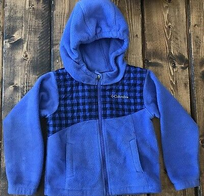 Columbia Sportswear Girl's Purple Fleece Jacket---3T
