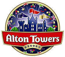 Alton Towers Tickets X 2 Thursday 6Th July 2017 - 3 Day Auction