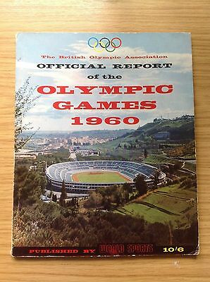 Olympic Games 1960 Rome official report