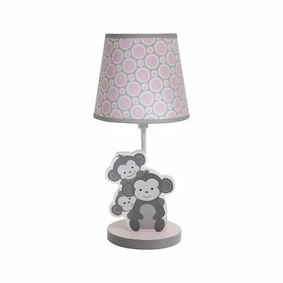 ORIGINAL Bedtime Desk Table Lamp Shade and Bulb Pinkie Kids Children Bedroom