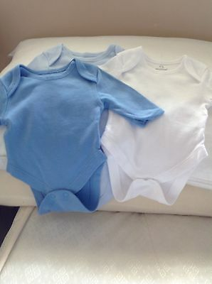 Baby Boys Long Sleeved Vests, New Never Worn in great condition