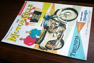 The Motor Cycle: London Jubilee Show Special Nov 1960 ~ Supplement Reprint 1992