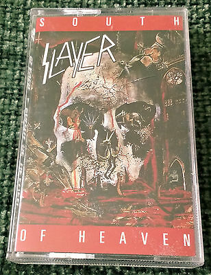 Slayer - South Of Heaven / Cassette Album Tape / 1988