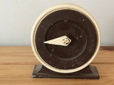 OLD Francis Ringer Kitchen Timer Clock - do not know if it is working