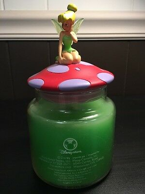 Disney Store Tinkerbell Tink Peter Pan Candle With Topper Children's Place Hoop