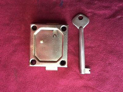 Lock And Key For Gamewell And Other Fire Alarm / Police Call Boxes