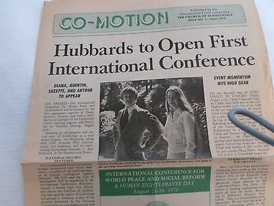 Scientology: CO-MOTION  Issue NO.3 April 1976 - by International Event Committee
