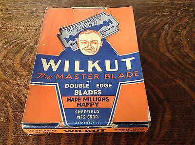 WW11 Complete Shop Display 'US Armed Forces Issue 1944 'WILKUT Razor Blades'