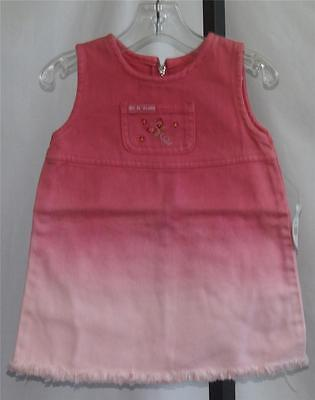TODDLER GIRLS RVT JEANS CO Pink Jumper NEW WITH TAG Size 18 Months