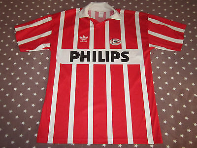 Psv Eindhoven Vintage Shirt Adidas Trikot Jersey Philips 1990/91 Calcio  Holland