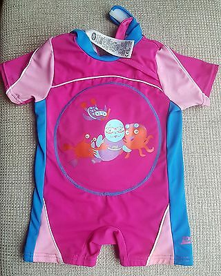 zoggs all in one inflatable swim suit Age 1-2