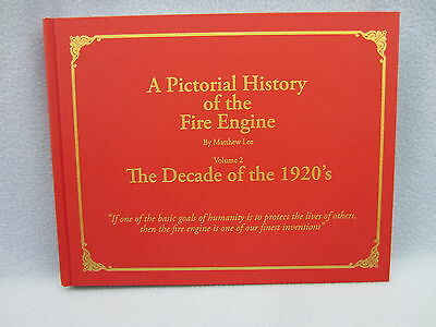 Fire engine book 1920s, American La-France, Seagrave, Fox, Mack and many more.