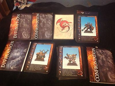 Rackham Confrontation Cards job lot