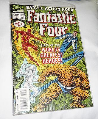 THE FANTASTIC FOUR BIRTH OF THE WORLDS GREATEST HEROES! 1. Nov. 94 + ORIG. FOLIE