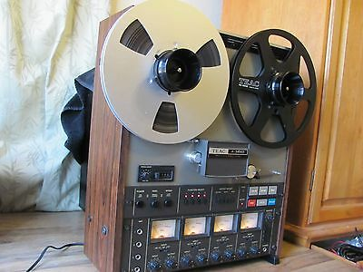 TEAC A-3440 REEL-REEL, serviced, very little use, excellent cond