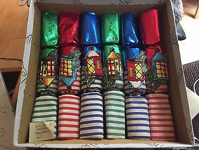Vintage 1950's Caley Christmas Crackers Double Vintage Contents Toys-Attic Find
