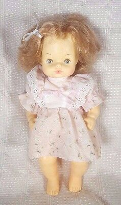 Vintage Horsman Dolls BABY DOLL Molded/Rooted Hair Drink/Wet 16""