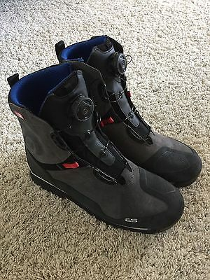 New Rev'It Adventure Touring Motorcycle Boots Men's Size 11.5