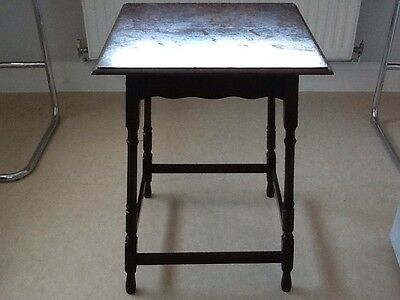 Arts & Crafts Oak Side Table, Waring & Gillow