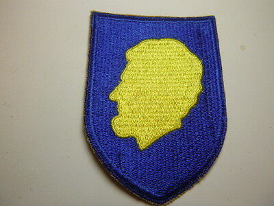 A    Post World War Two  U S Army Illinois N G  Cut Edge Snow Back  Patch