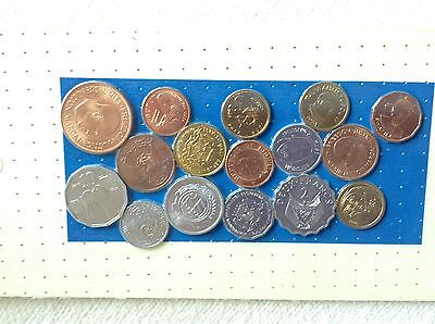 16 coins from Africa