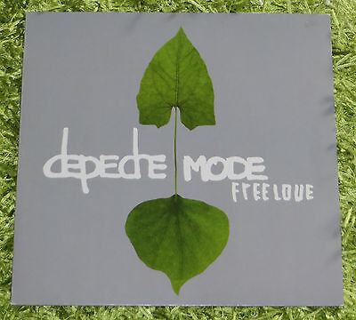 "Depeche Mode Freelove from Exciter 12"" Maxi Remix Vinyl 5016025230327 Gahan Gore"