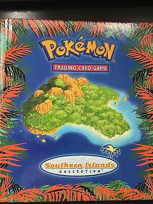 2001 Southern Islands Complete Collection in Original Binder - Pokemon Cards