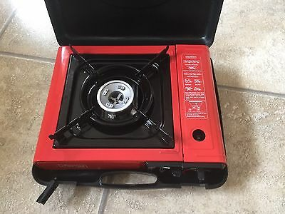 Portable Gas Camping Stove In Carry Case With Gas