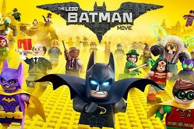 The Lego Batman Movie DVD 2017 brand new and sealed Reg 2 Prompt 1st post