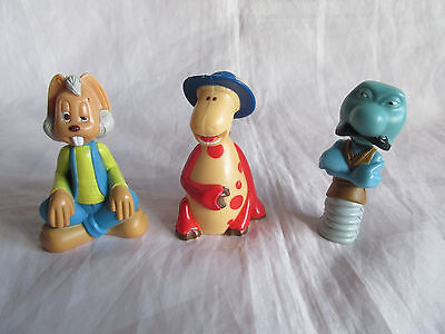 3 Magic Roundabout Figures Dillon, Ermintrude and Zebberdy