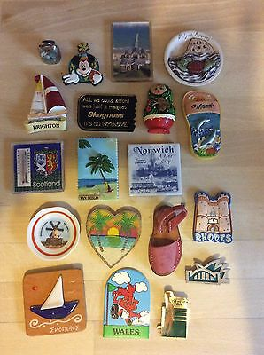 Joblot / Bundle Of Souvenir Fridge Magnets