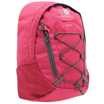 Small Pink Karrimor Sierra 10L Walking Hiking School Rucksack Backpack Bag