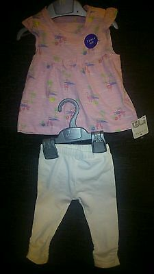 Mothercare 2 piece summer set baby girl 3- 6 months New