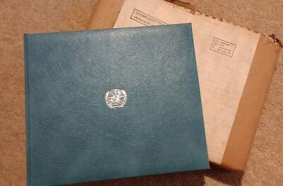 Stamps Book of First Day Covers United Nations 1977 Collectors