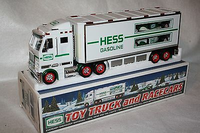 Hess 2003 Truck and Racecars, EX/BXD!