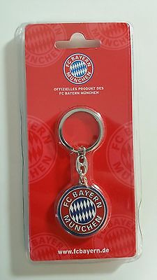 Official Licensed Football Product FC Bayern Munich Keyring Key Ring Gift Crest