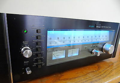 SANSUI TU-9900  AM FM FLAG SHIP TUNER  -- NEW LED's -- SERVICED -- SWEET --