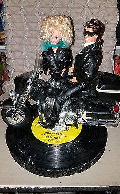 1996 NBDC CONVENTION Barbie Bandstand Centerpiece Motorcycle